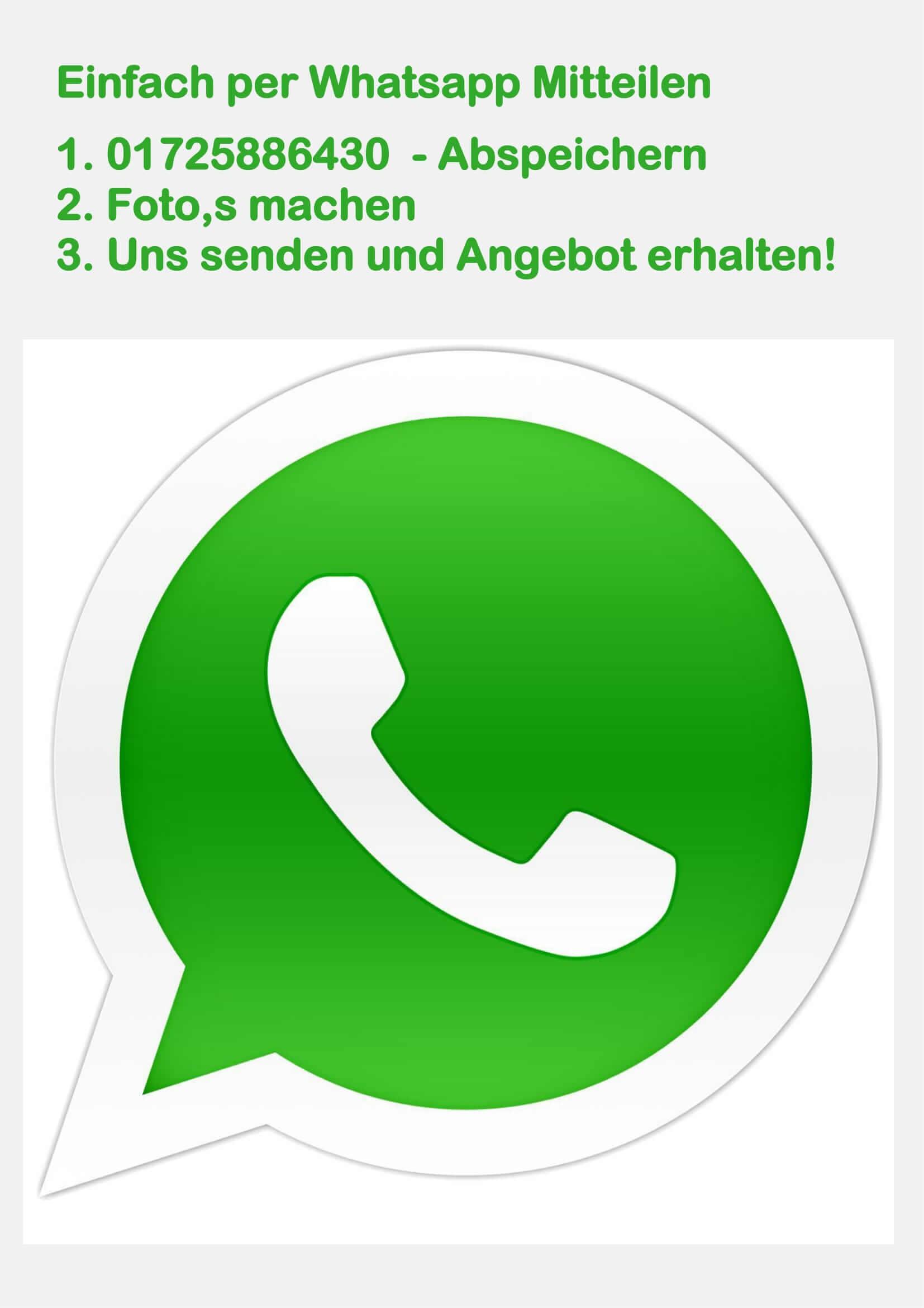 Auto verkaufen über Whatsapp